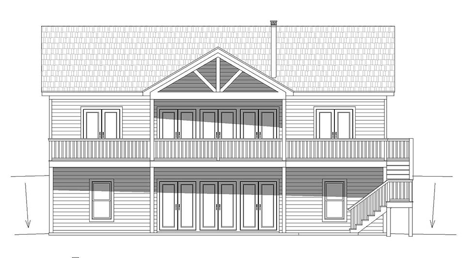 Country, Traditional House Plan 52125 with 4 Beds, 4 Baths Picture 4