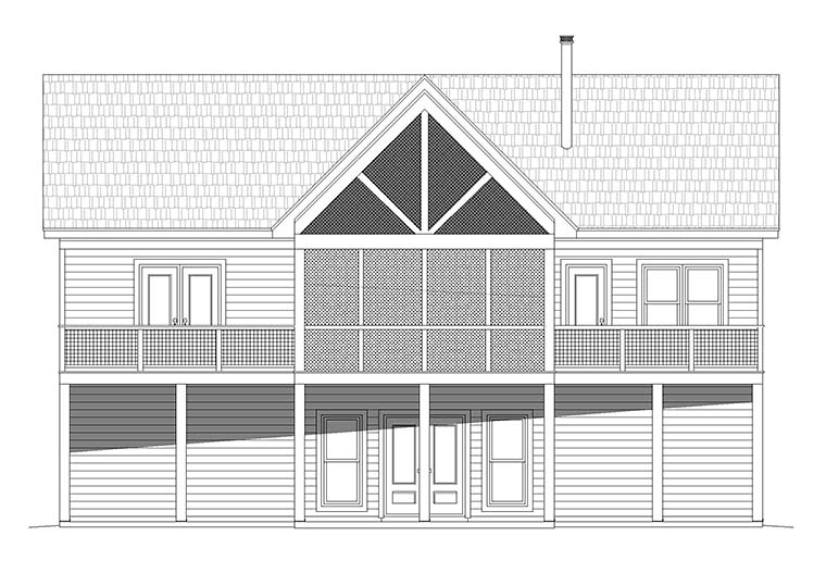 Traditional House Plan 52127 with 4 Beds, 4 Baths Picture 5
