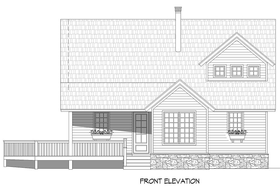 Country, Farmhouse House Plan 52131 with 3 Beds, 2 Baths Picture 3