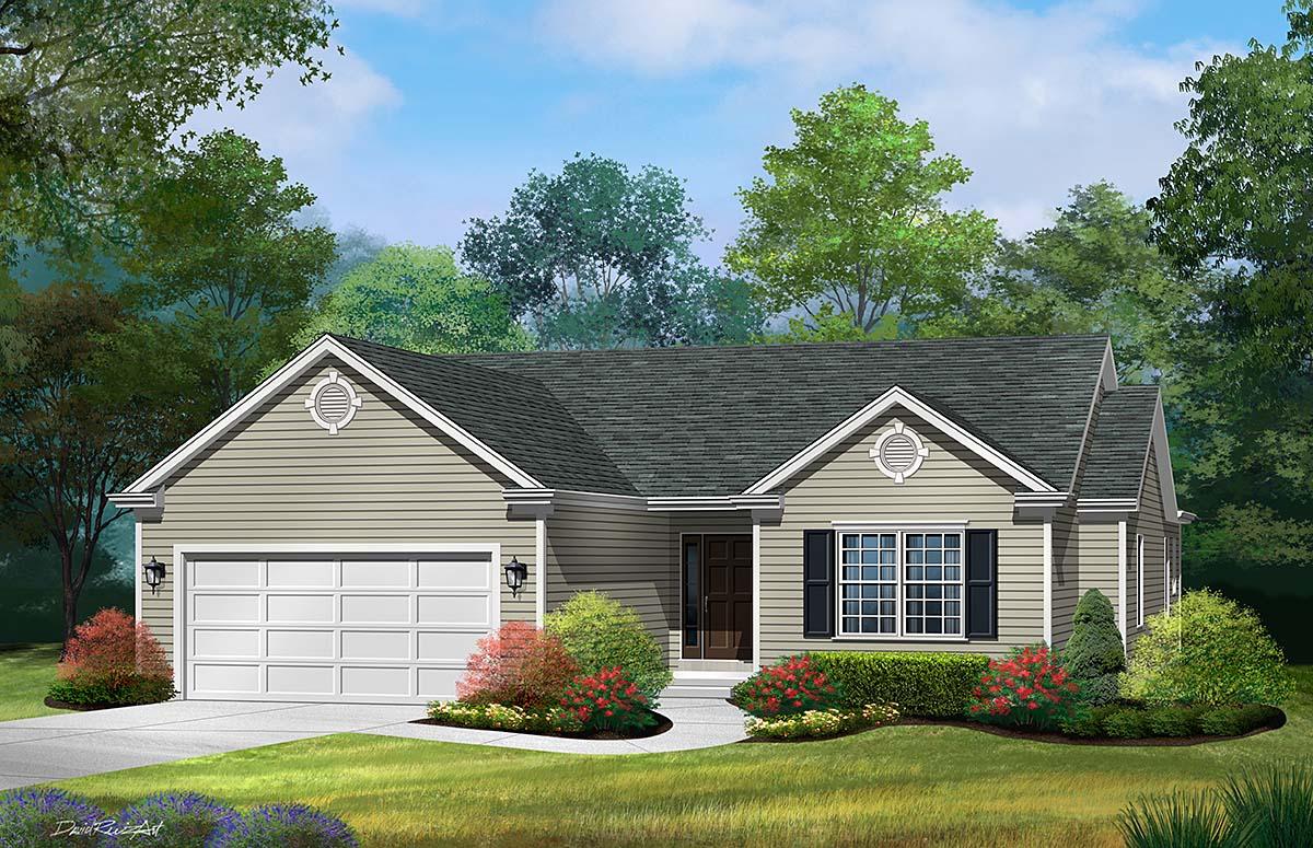House Plan 52200