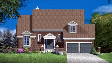 House Plan 52301 Elevation