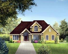 House Plan 52311 Elevation