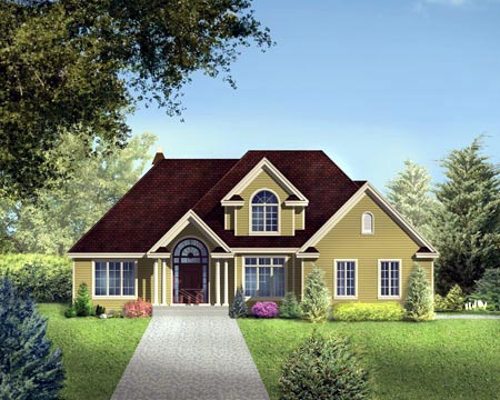 House Plan 52311 Elevation