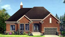 House Plan 52314 Elevation