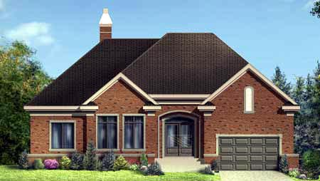 House Plan 52314 Elevation