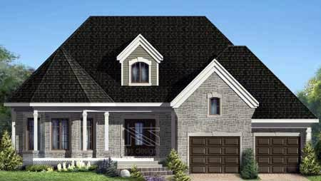 House Plan 52316 Elevation