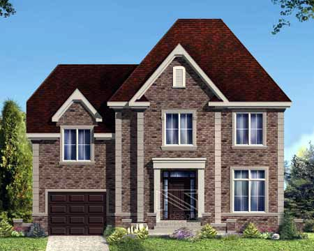 House Plan 52317 Elevation