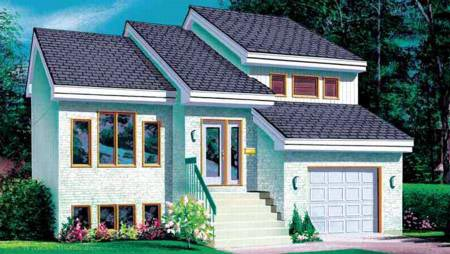 House Plan 52319 Elevation