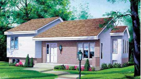 House Plan 52321 Elevation