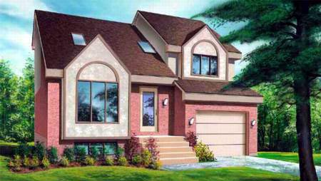 House Plan 52322 Elevation
