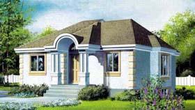 House Plan 52330 Elevation