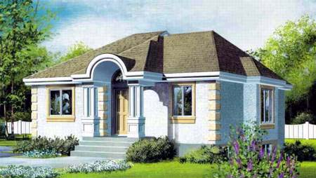House Plan 52330 Elevation