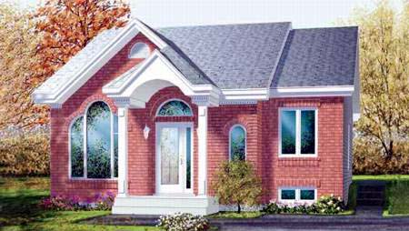 House Plan 52332 Elevation