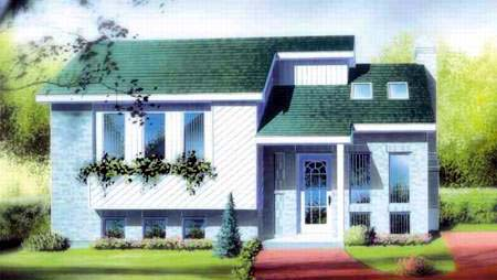House Plan 52346 Elevation