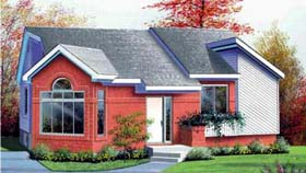 House Plan 52347 Elevation