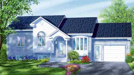 House Plan 52351 Elevation