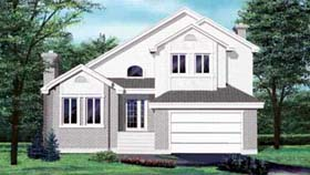 House Plan 52353 Elevation