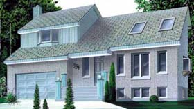 House Plan 52354 Elevation