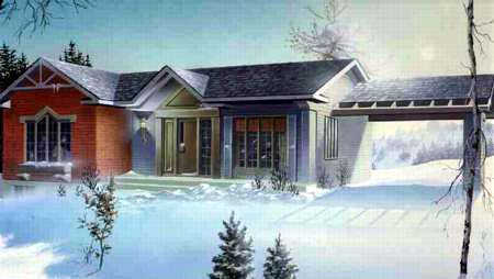 House Plan 52355 Elevation
