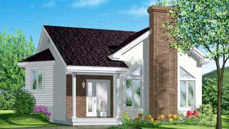 House Plan 52357 Elevation