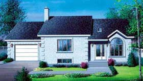 House Plan 52358 Elevation