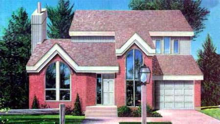 House Plan 52359 Elevation