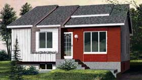 House Plan 52360 Elevation