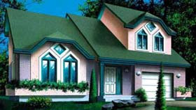 House Plan 52361 Elevation