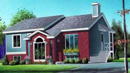 House Plan 52362 with 2 Beds, 2 Baths Elevation