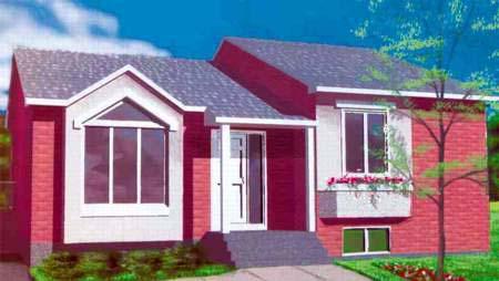 House Plan 52366 Elevation