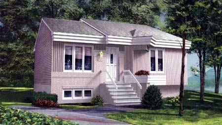 House Plan 52367 Elevation