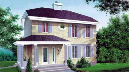 House Plan 52369 Elevation