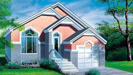 House Plan 52371 Elevation