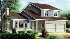 House Plan 52372 Elevation