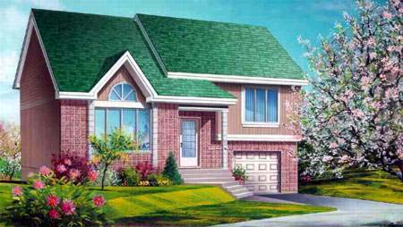 House Plan 52374 Elevation