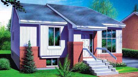House Plan 52376 Elevation