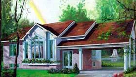 House Plan 52377 Elevation