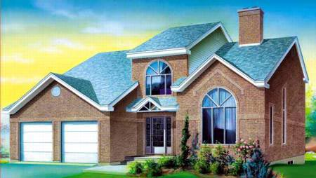 House Plan 52378 Elevation
