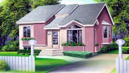 House Plan 52379 Elevation