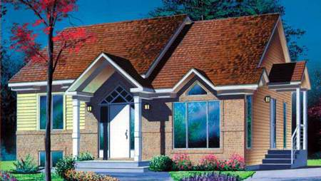House Plan 52384 Elevation