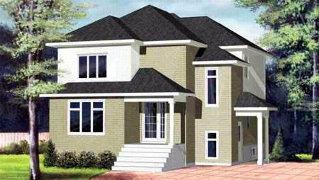House Plan 52385 Elevation
