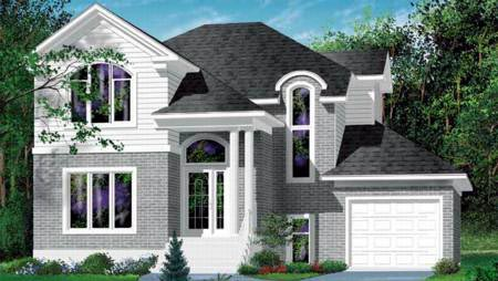 House Plan 52386 Elevation