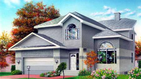 House Plan 52387 Elevation