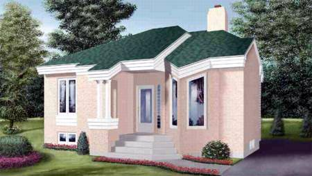 House Plan 52388 Elevation