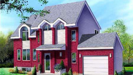 House Plan 52390 Elevation