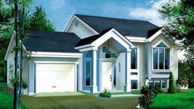 House Plan 52391 Elevation