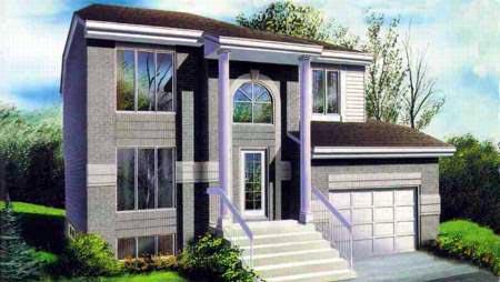 Modern House Plan 52395 Elevation