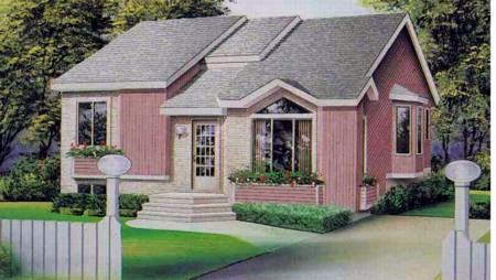 House Plan 52397 Elevation