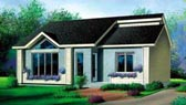 Plan Number 52405 - 1031 Square Feet