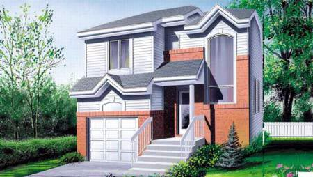 House Plan 52409 Elevation